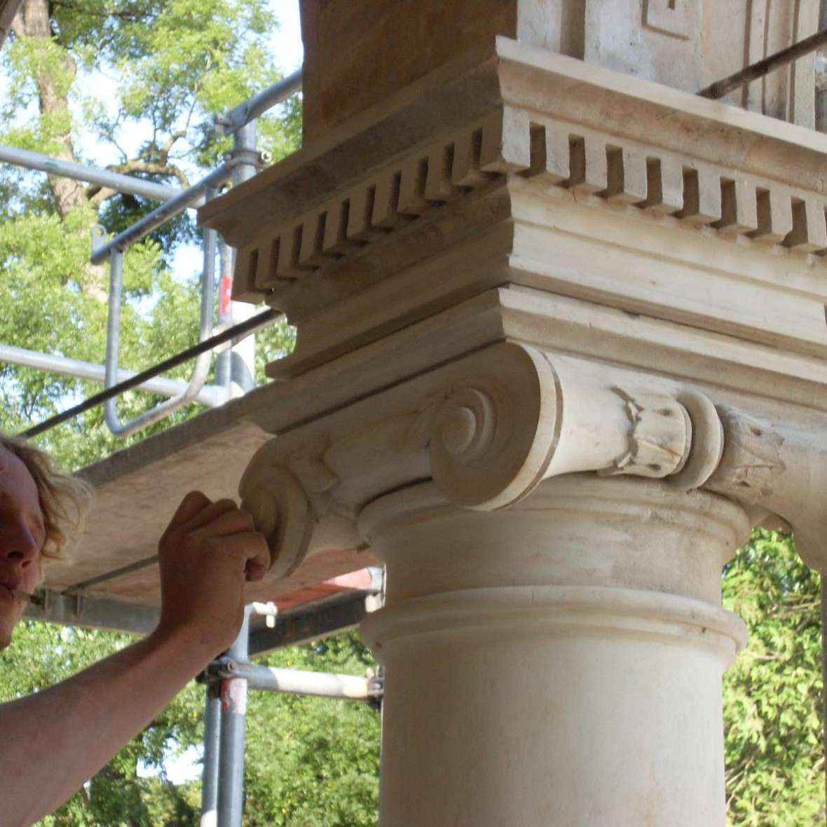 Villa - Fassadenarbeiten
