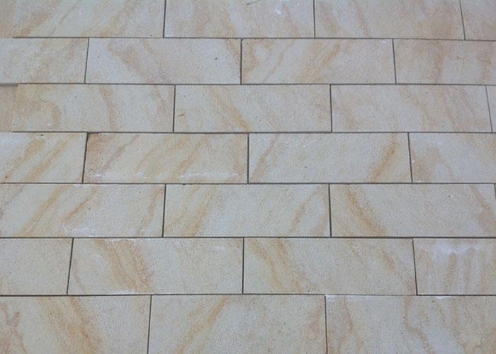 Wandverkleidung - Sandstein