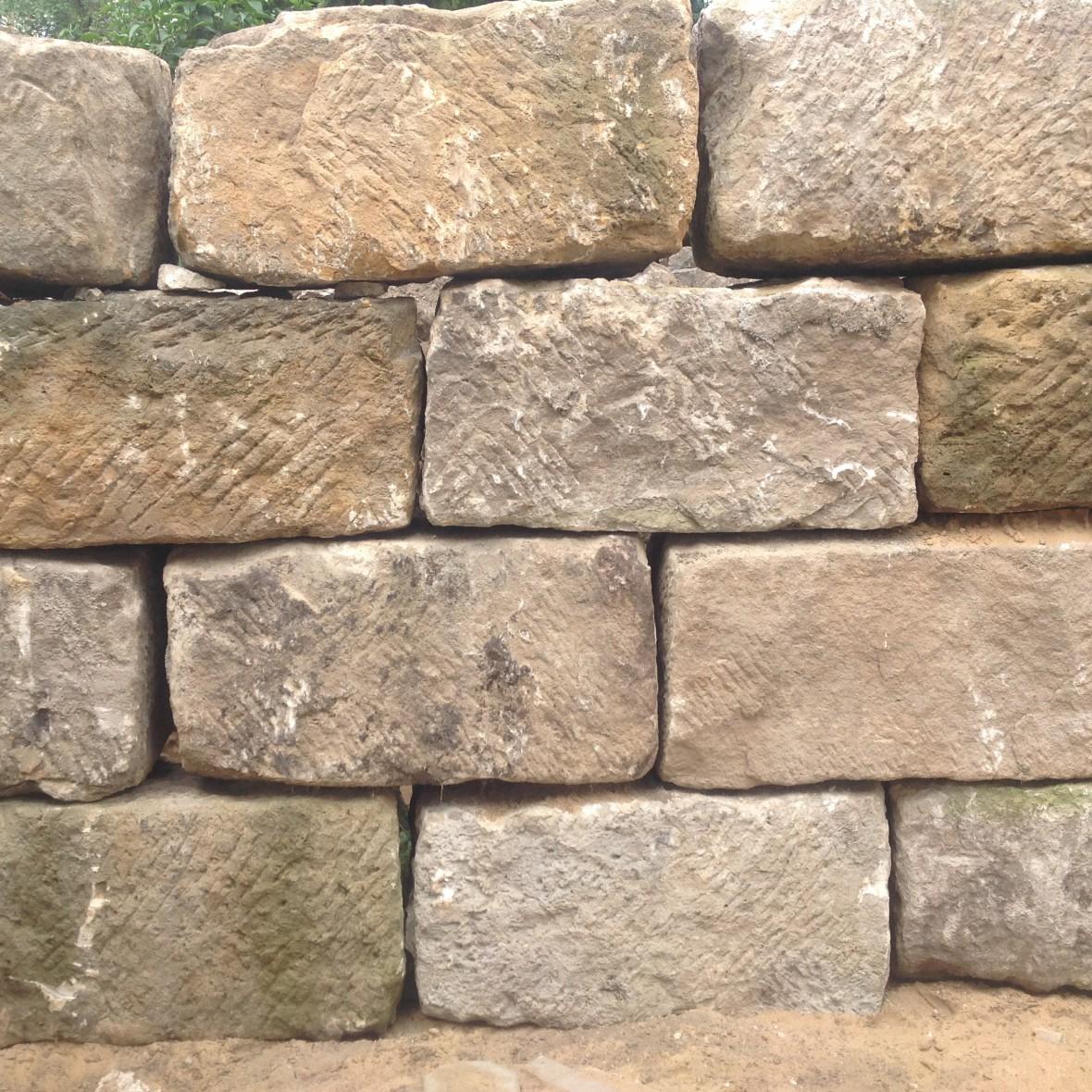 Sandstein - Mauer