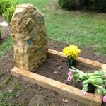 individueller Kindergrabstein
